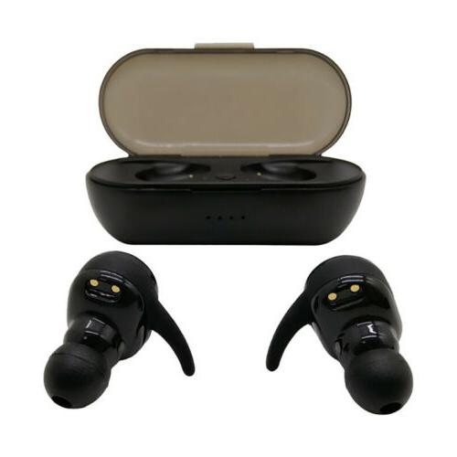 2019 Bluetooth Headphone Headset with Charging Case