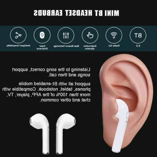 2019 Upgrade Wireless Bluetooth Headphones with Charging Case Earbuds