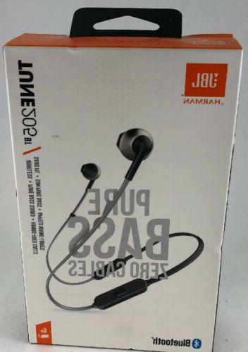 JBL Lifestyle TUNE 205BT In-Ear Bluetooth Earphones with Rem