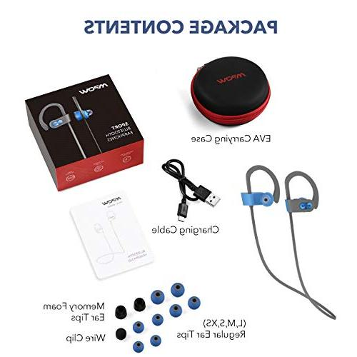 Mpow Waterproof Wireless Sport, Richer Bass Stereo Case, Hrs Noise Cancelling Headsets