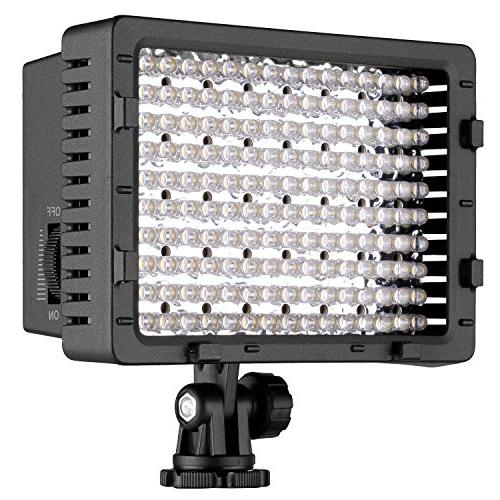 Dimmable Panel Camcorder Video Light, Light for Canon, Pentax, Cameras