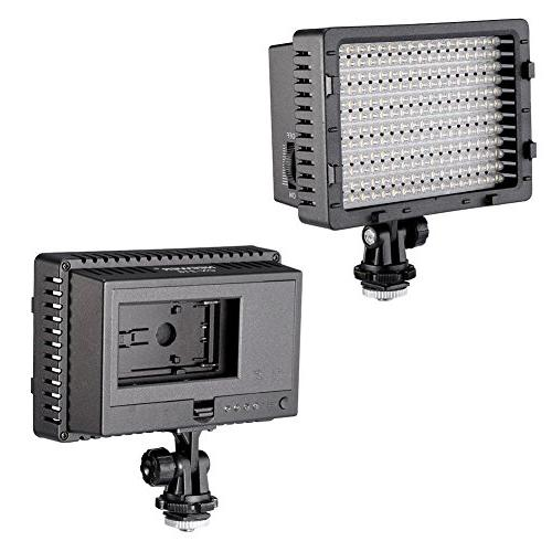 NEEWER Dimmable Panel Camera / Camcorder Video Light for Canon, Pentax, and Olympus Digital SLR Cameras