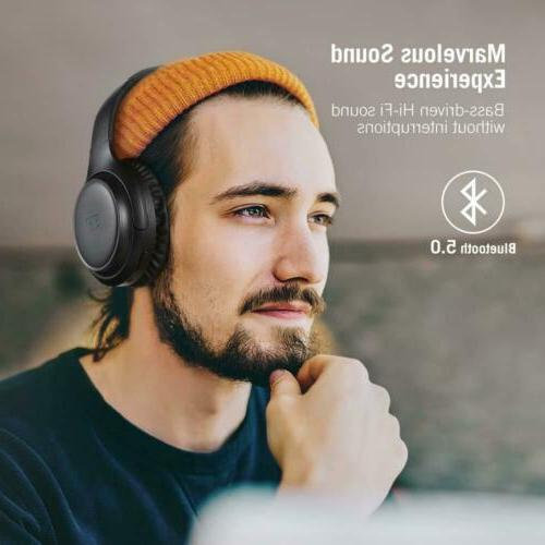 TaoTronics Headphones Bluetooth