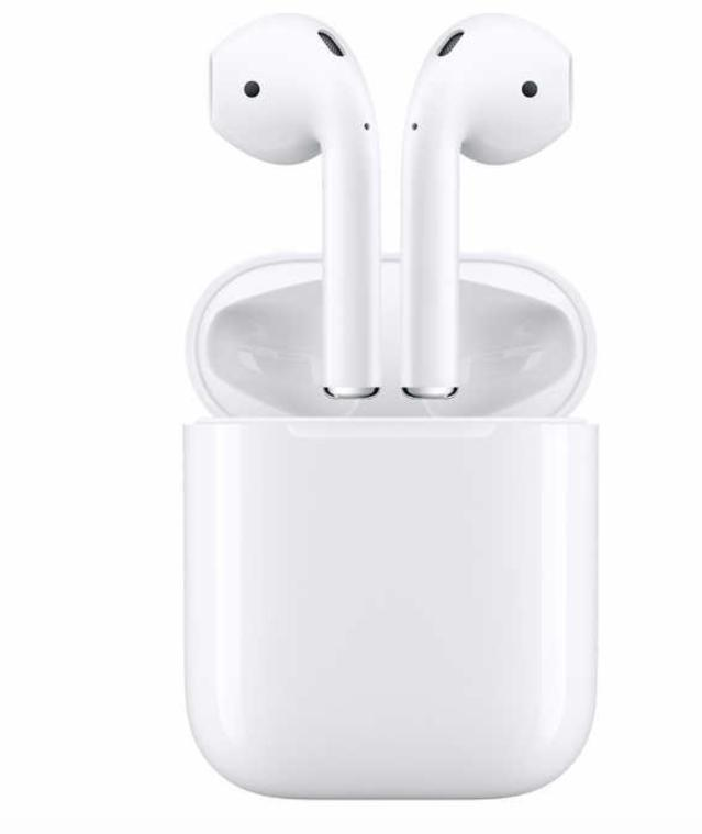 airpods wireless headphones with charging case latest