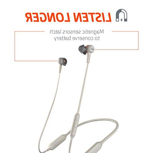 Plantronics Wireless Headphones, Canceling Earbuds, Graphite
