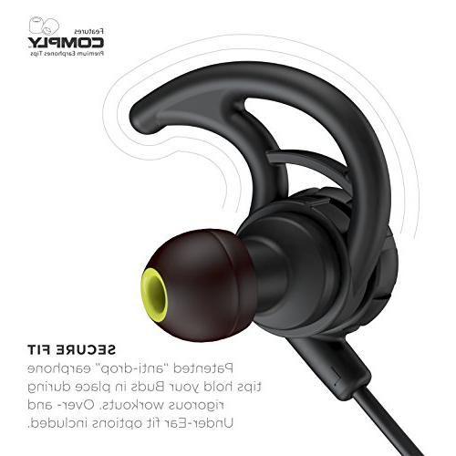 Phaiser BHS-750 Runner with and Sweatproof - Earbuds for Blackout