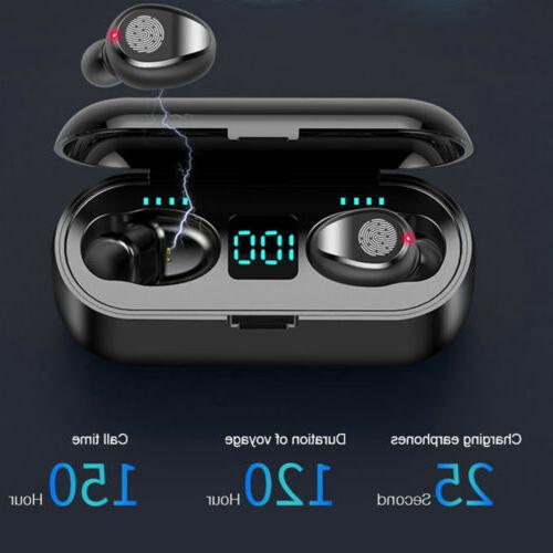 Bluetooth 5.0 Headset Wireless Earphones Mini Stereo Headphones IPX6