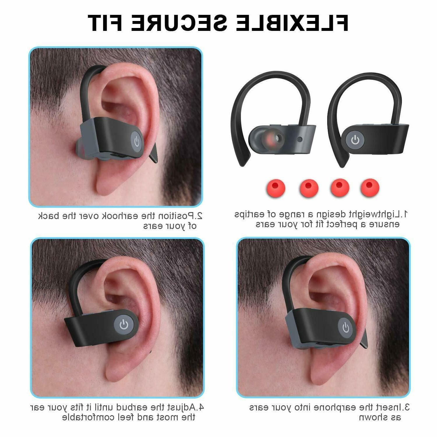 Bluetooth Headphones in Sports Headset