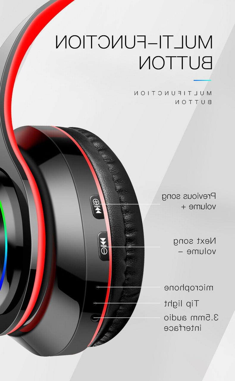 Bluetooth Gaming Headphone Noise Cancelling Mic