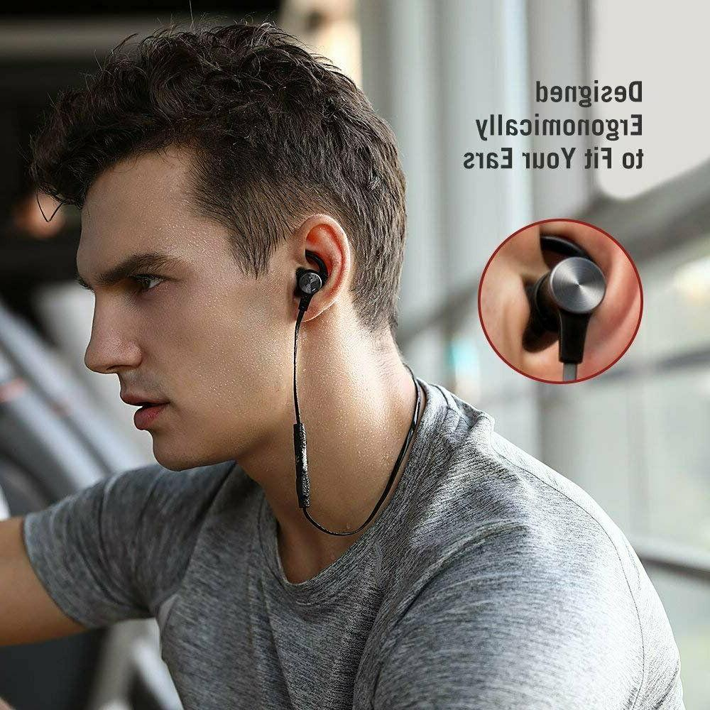 TaoTronics Earphone Mic Wireless Earbuds Waterproof New