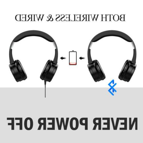 Bluetooth Wireless Ear Headset Cancelling With Microphone