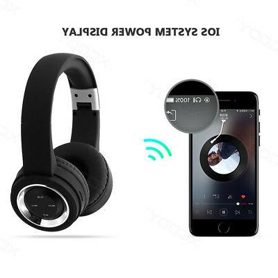 Bluetooth Over Ear Headset With Microphone