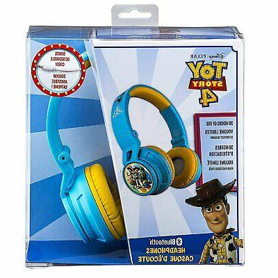 Bluetooth Headphones Kids Wireless Rechargeable Friendly Sound (Toy...
