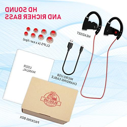 Headphones Hours Battery - Wireless - IPX7 Waterproof In-Ear Earbuds Women