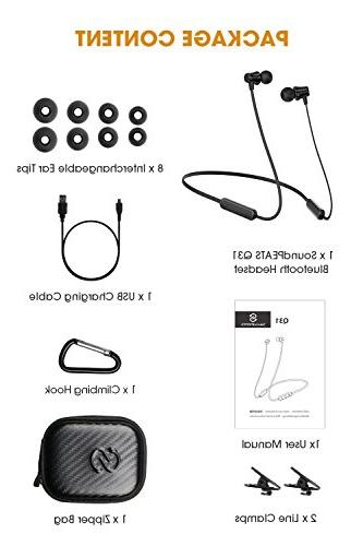 Earphones Earbuds with Mic for Sports