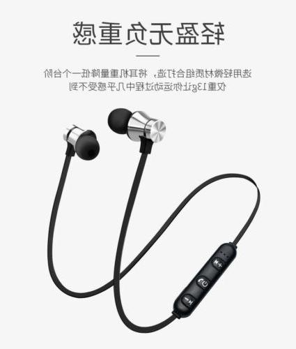 Bluetooth Mic Magnetic Earphone for Android