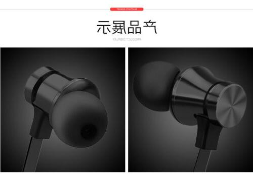 Bluetooth Headphones Mic Magnetic Earphone for Android iPhone