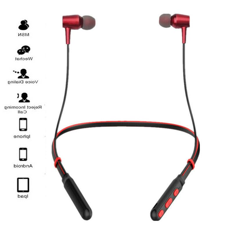 wireless bluetooth headphones sport running earphones stereo