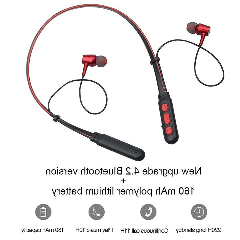 Running Earphones Stereo Bass Headset