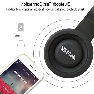 Bluetooth Headphones Ear Headset Noise With Microphone