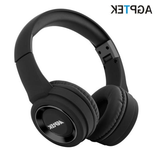 bluetooth wireless headphones over ear headset noise
