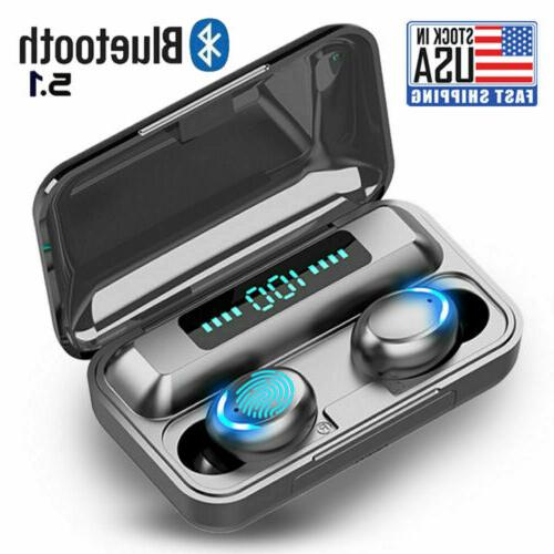 buletooth earbuds for iphone samsung android wireless