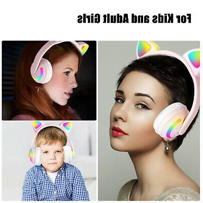Cat Headphones Headsets For