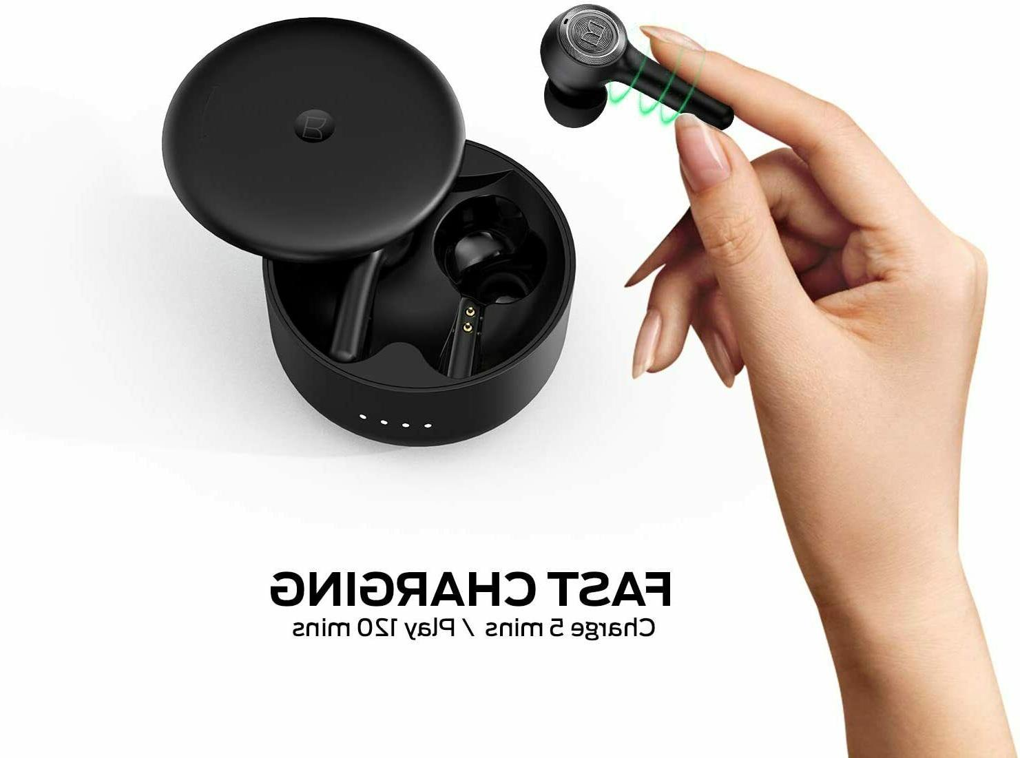 Monster 102 AirLinks Bluetooth Earbuds w Case