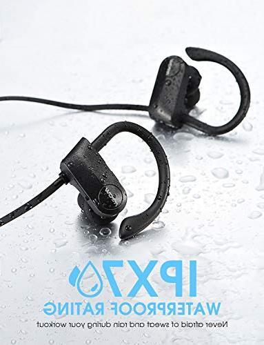 Mpow D7 IPX7 Sound w/Mic, Cancelling Jogging,