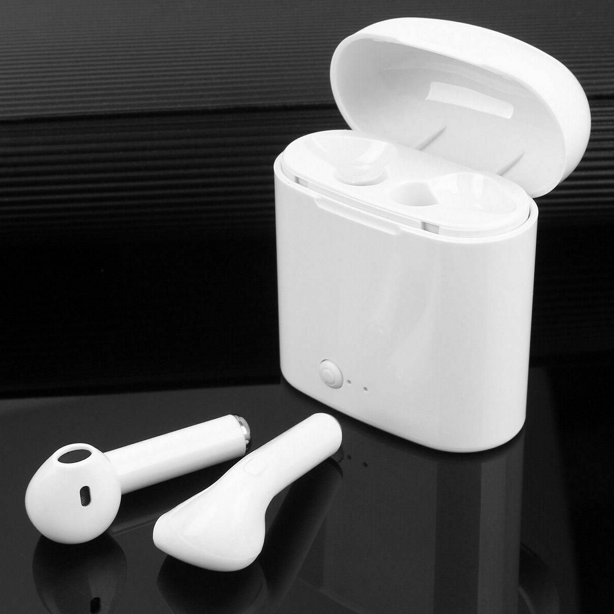 Dual Wireless Earphone Earbuds For Android IOS Universal Phone