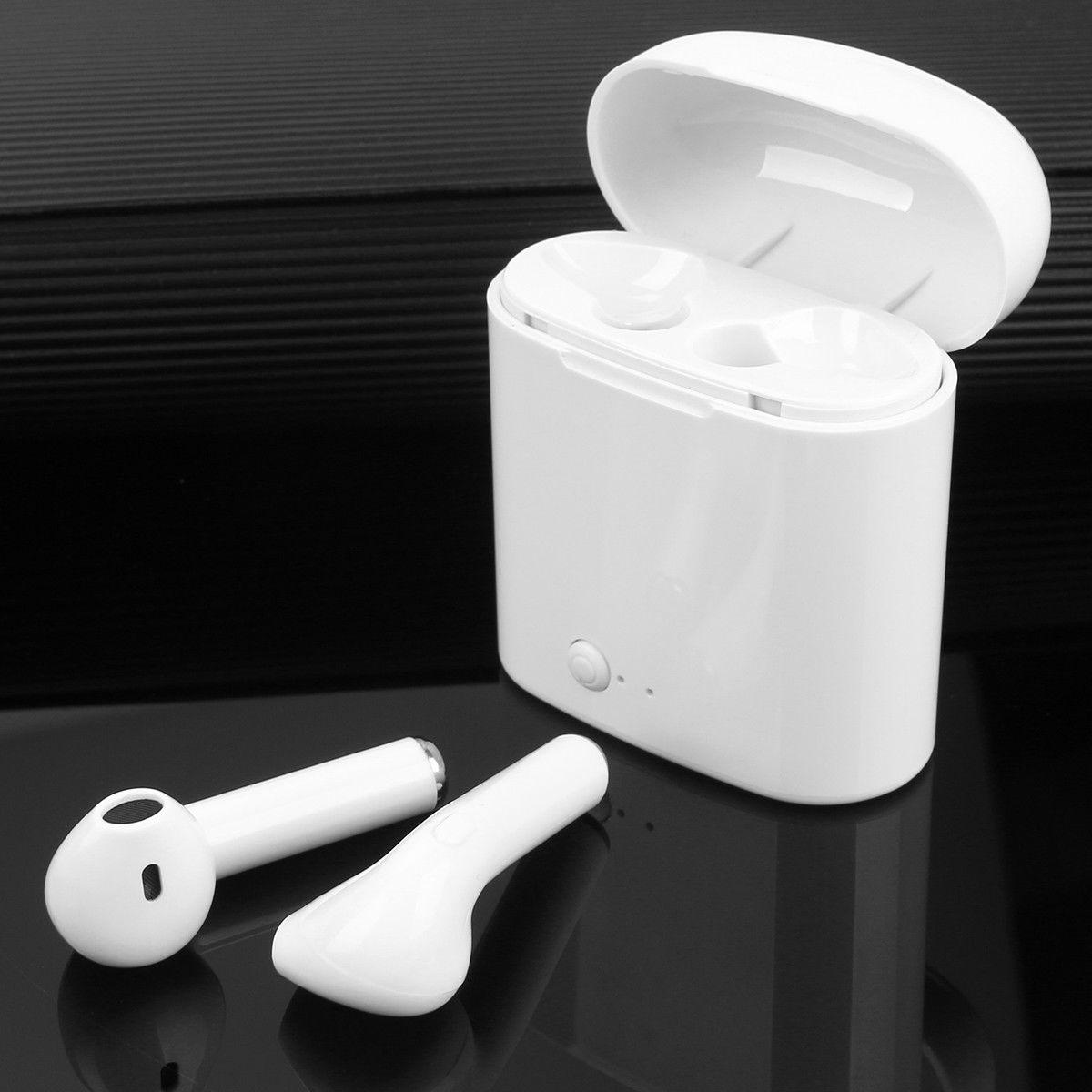 Dual Wireless Bluetooth Earphones For Android Universal Phone