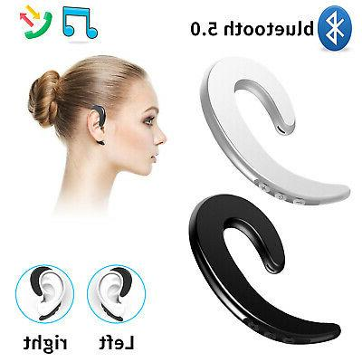 ear bluetooth bone conduction headphones stereo wireless