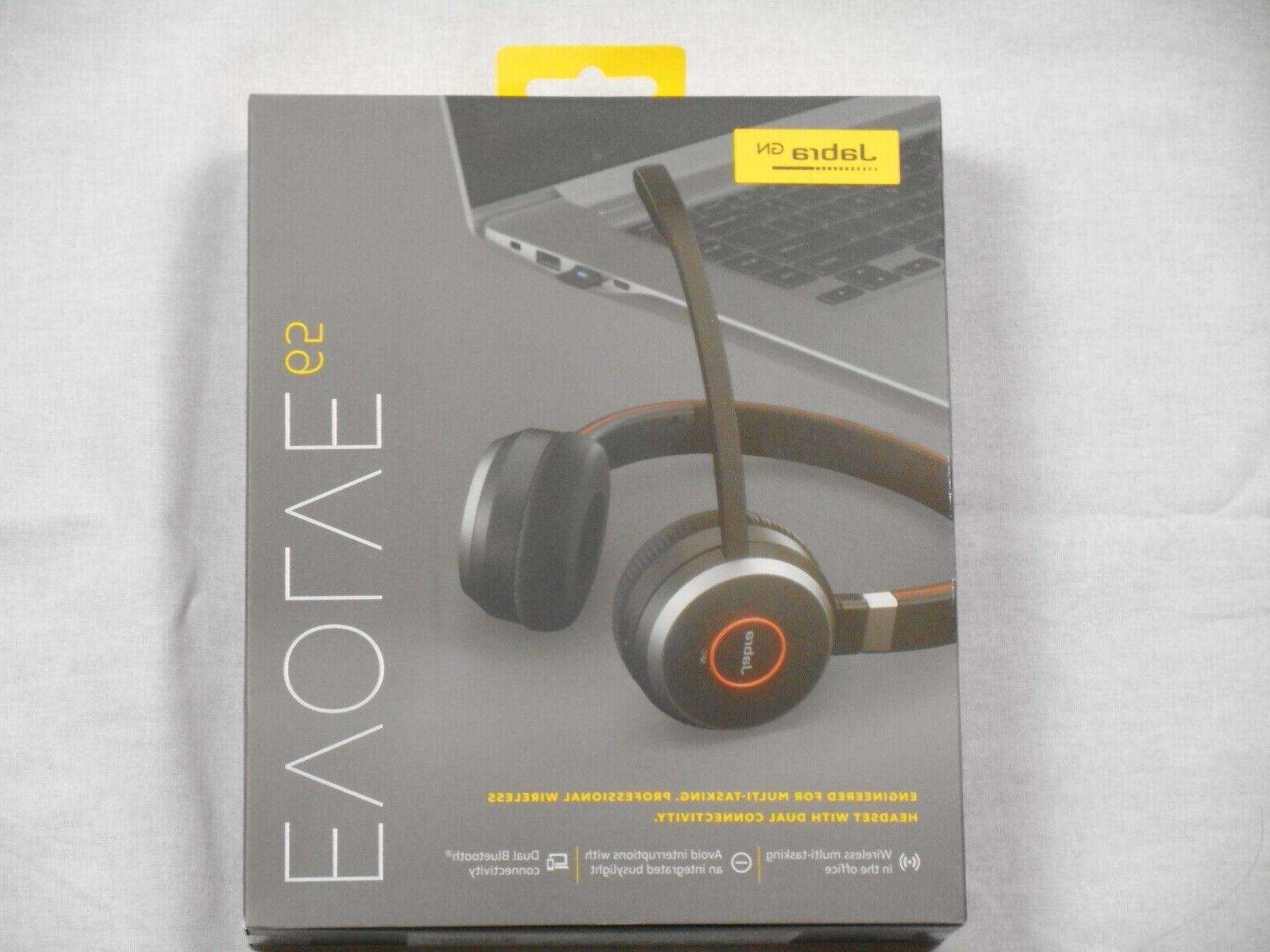 Jabra Evolve 65 Uc Stereo Wireless Bluetooth Headset