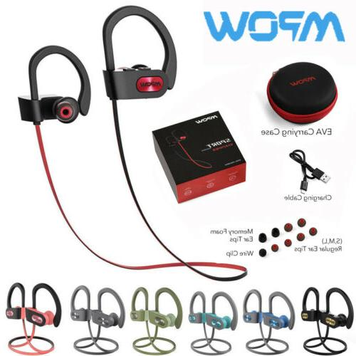MPOW Flame Bluetooth 5.0 Sport Headset Earbuds IPX7 Waterpro