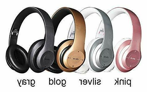 headphones foldable stereo earphones super bass headset