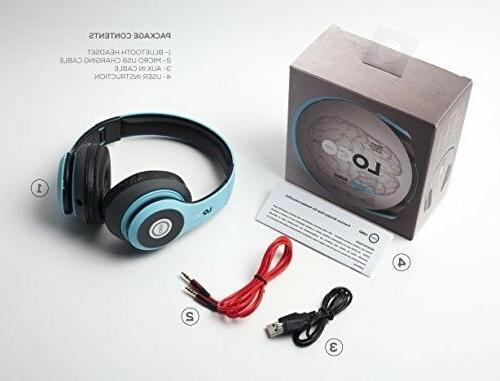 Headphones with wireless By iJoy Foldable