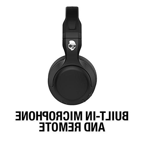 Skullcandy Hesh Bluetooth Wireless Microphone, Supreme Sound and Powerful Battery, Soft Ear Cushions, Black