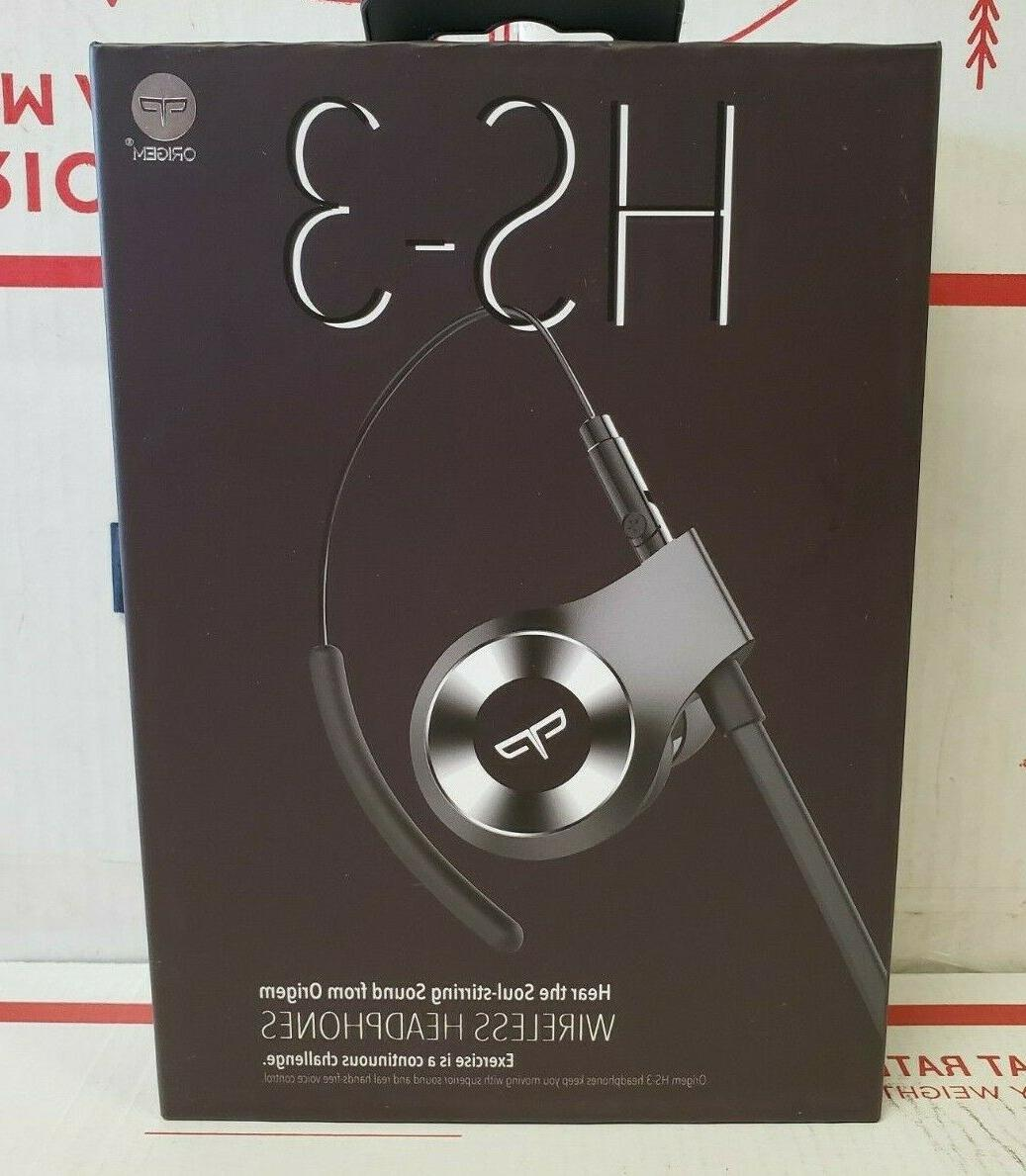 hs 3 bluetooth headphones wireless sports earbuds
