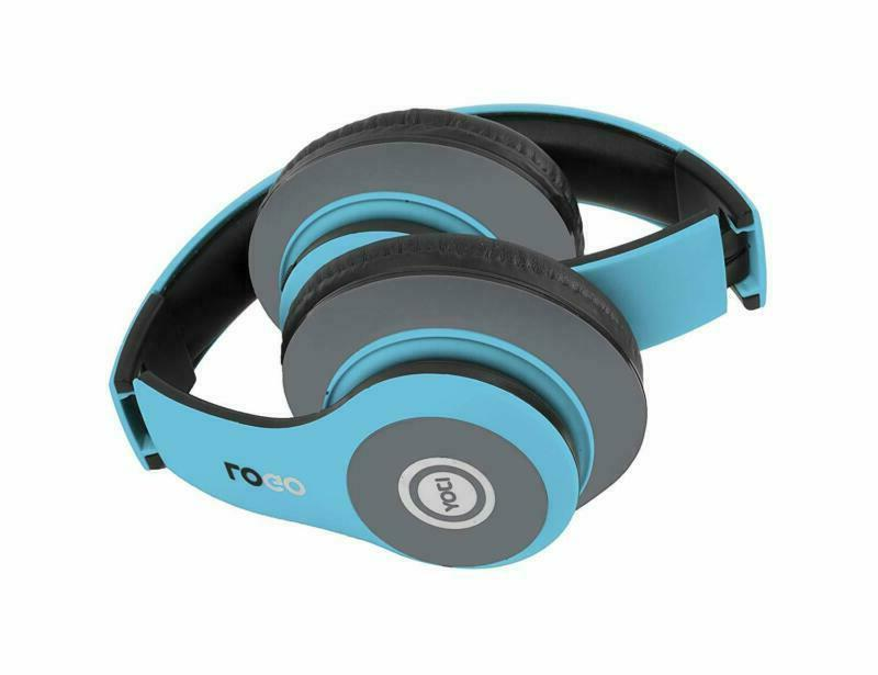 Ijoy Matte Rechargeable Bluetooth Foldable Headphones With