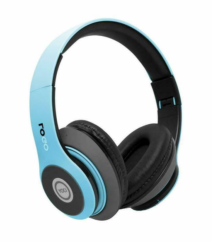 Ijoy Bluetooth Foldable Over Ear Headphones Mic