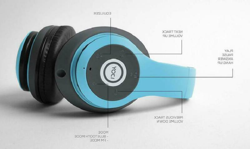 Ijoy Matte Rechargeable Headphones With