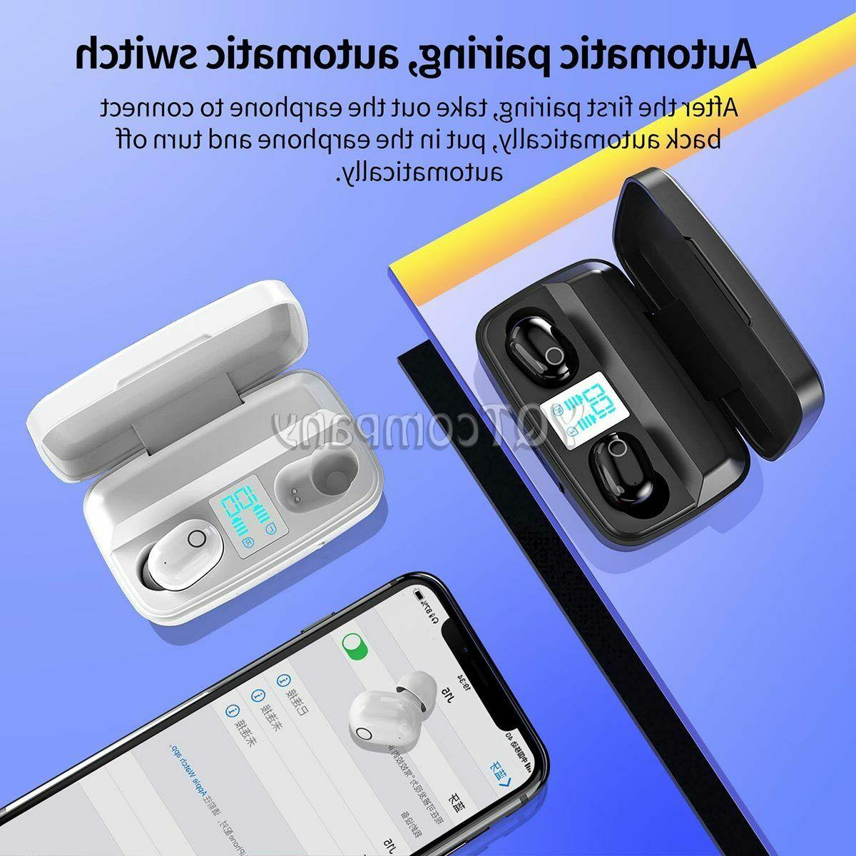 Wireless Bluetooth Earbuds Stereo