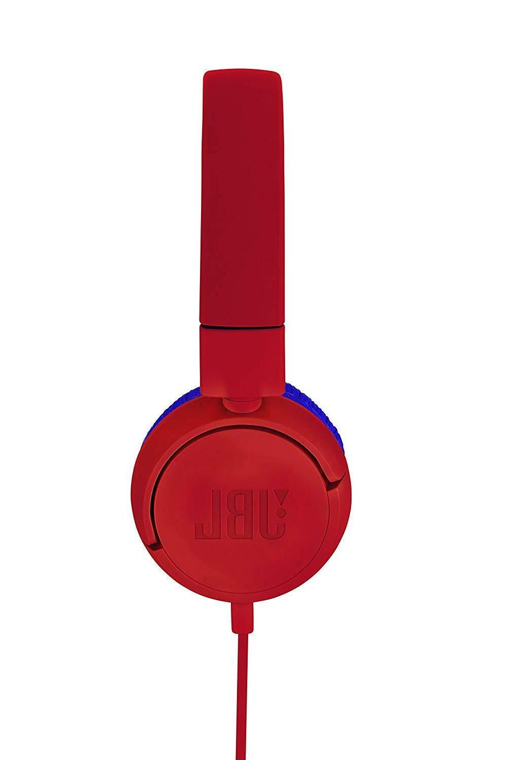 JBL Bluetooth Headphone Control Red Blue w/Tracking