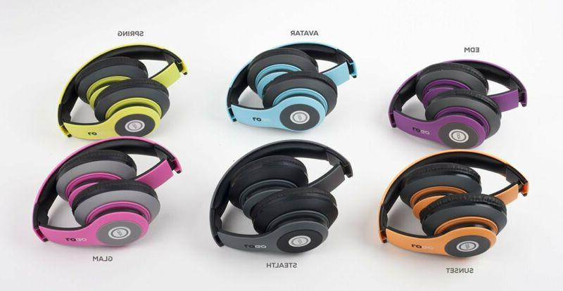 Wireless Bluetooth Over the Ear Headphones Headset Stereo fo