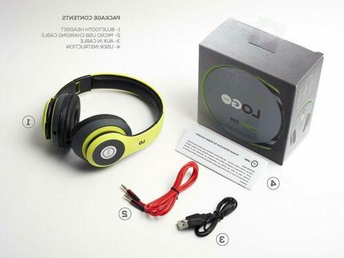Matte Bluetooth Foldable Over Headphones with Mic