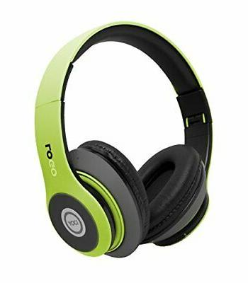 iJoy Matte Rechargeable Wireless Bluetooth Foldable Over Ear