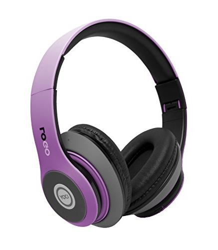 matte rechargeable wireless bluetooth foldable over ear