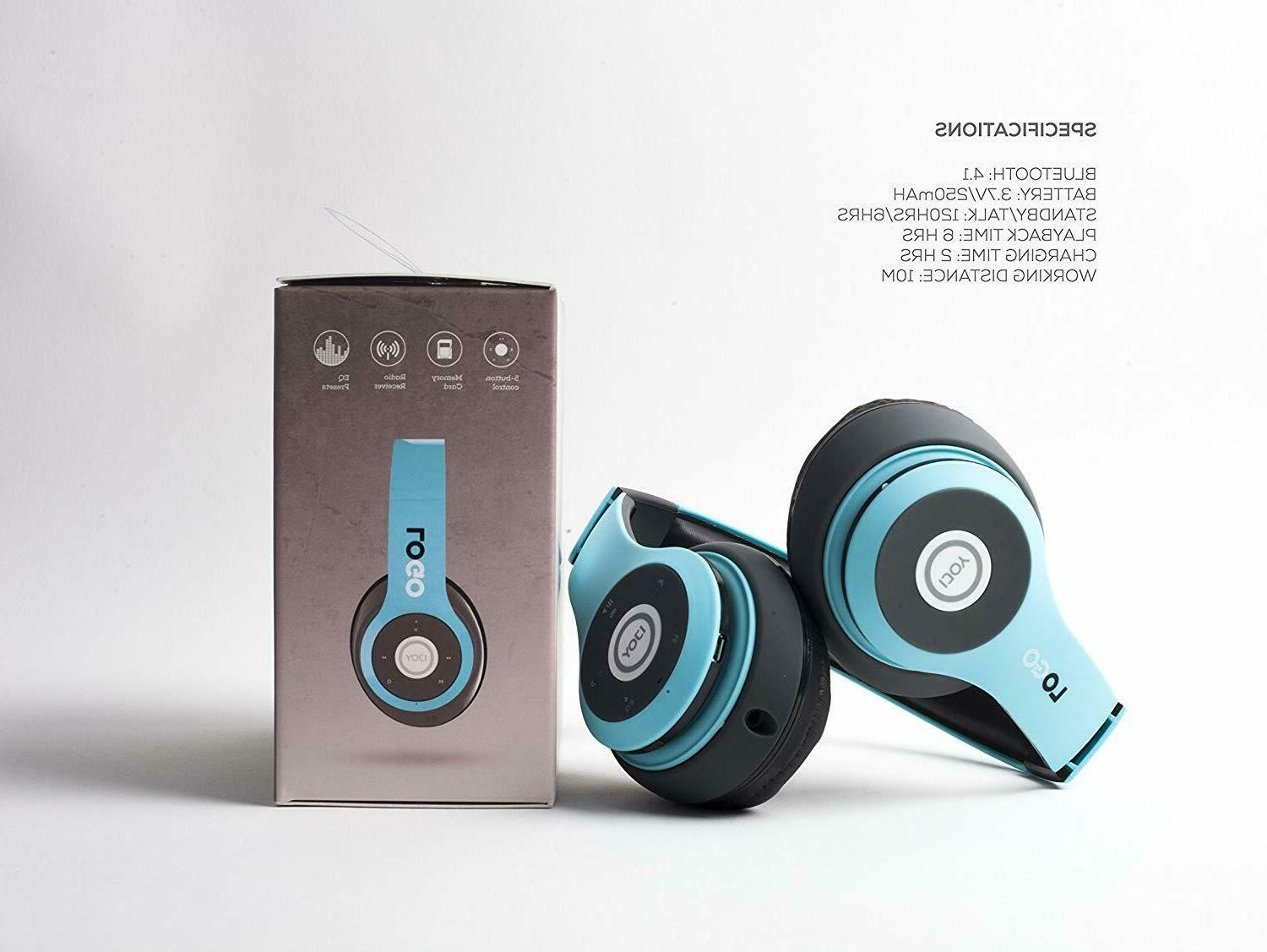 Matte Rechargeable Headphones Ear Foldable
