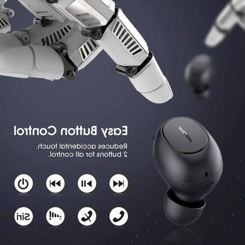 Mpow Bluetooth w/Punchy Bass Wireless Noise Cancelling