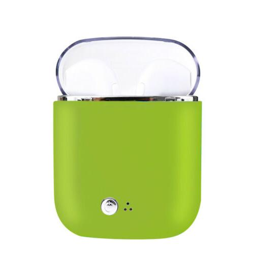 Mini Bluetooth Headset iPhone 7 8 X With Case